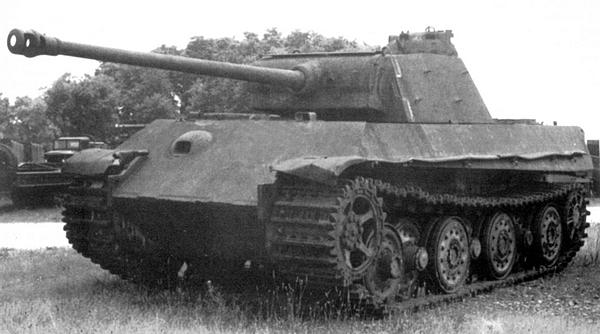 "Танк pz.kpfw.v ""panther"" ausf. a."