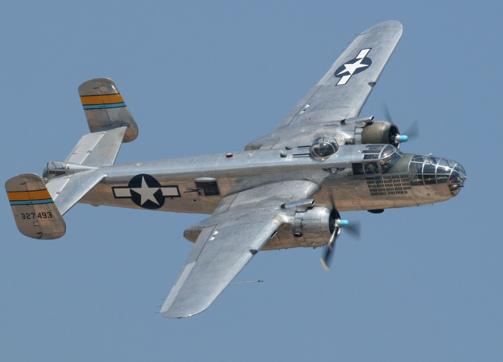 North american b-25 mitchell википедия