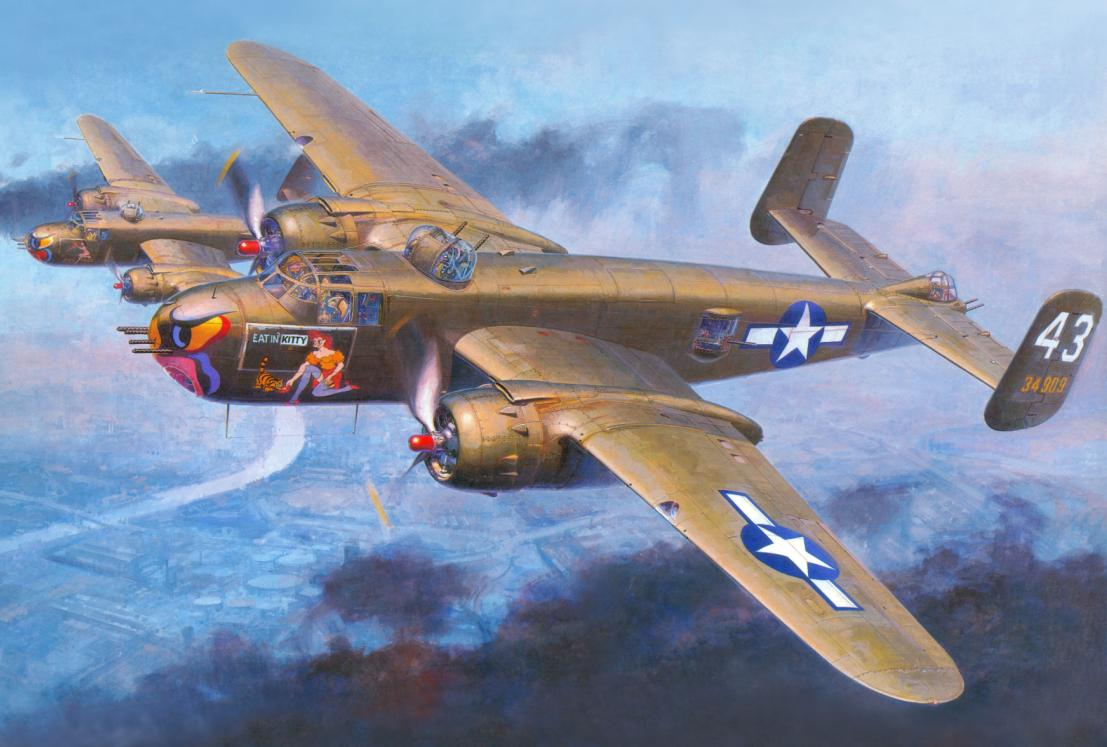 North american b-25 mitchell — википедия