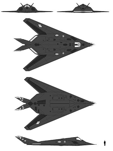 Lockheed f-117 nighthawk - википедия
