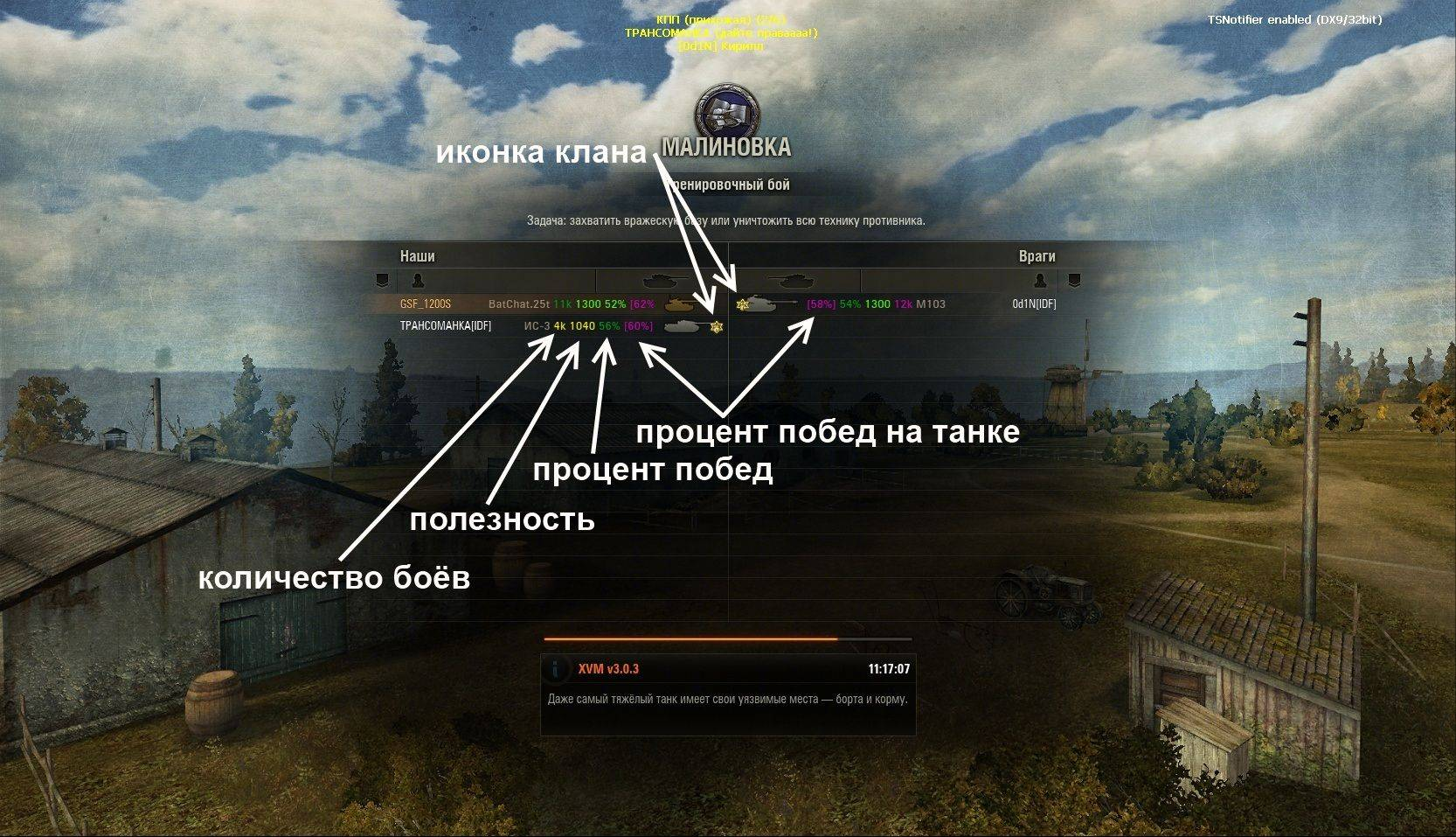 Xvm «оленемер» для world of tanks 1.8.0.1